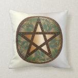 Pentagram 3 - Throw Pillow Square