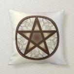 Pentagram 4 - Throw Pillow Square