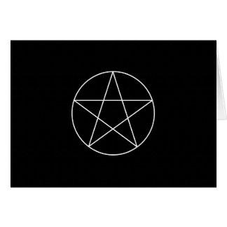 """""""pentagram."""" 4x5.6 card"""