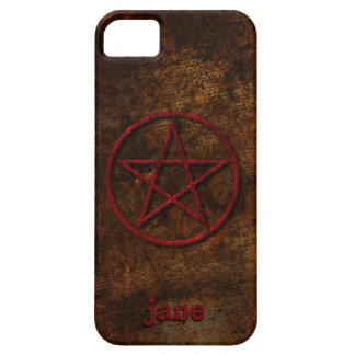 Pentagram - add your name or intials! iPhone SE/5/5s case