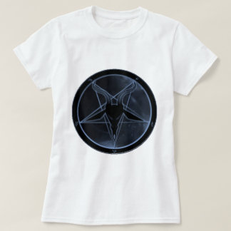 Pentagram azul playera