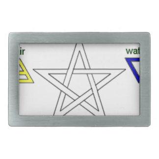 Pentagram_ Belt Buckle