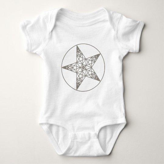 pentagram body para bebé