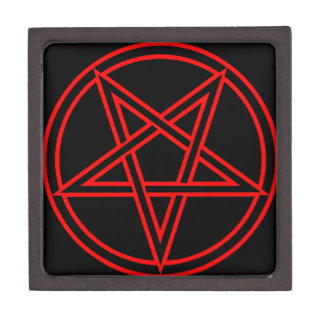 Pentagram Caja De Joyas De Calidad