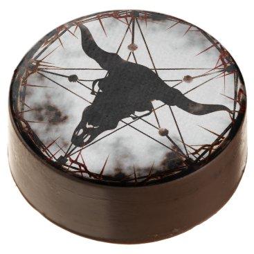 Halloween Themed Pentagram Chocolate Covered Oreo
