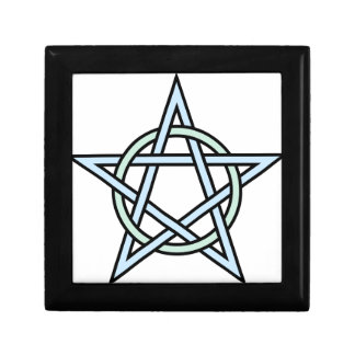 Pentagram-circle-interlaced Keepsake Box
