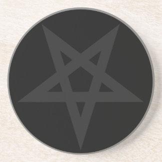 Pentagram Drink Coaster