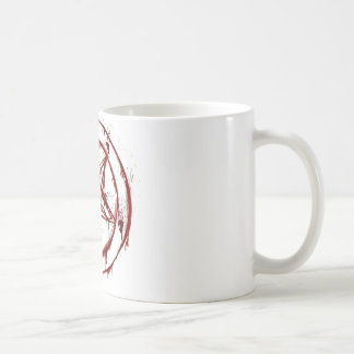 pentagram coffee mug