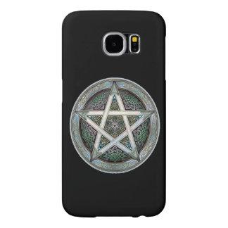 Pentagram complejo en la cubierta de Samsun S6 Fundas Samsung Galaxy S6