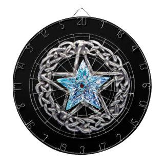 Pentagram Crystal Star Dart Board