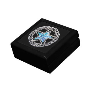 Pentagram Crystal Star Gift Box