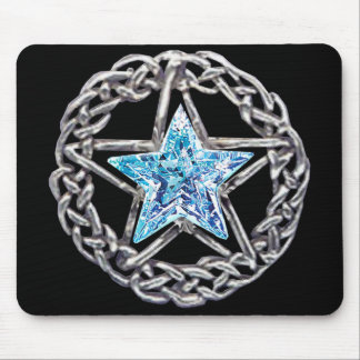 Pentagram Crystal Star Mouse Pad