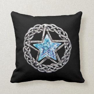 Pentagram Crystal Star Reversible Pillow
