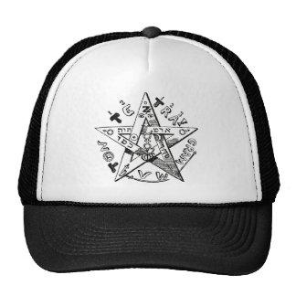 Pentagram de Eliphas Levi's Gorra