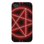 Pentagram de HotRod iPhone 4/4S Carcasas