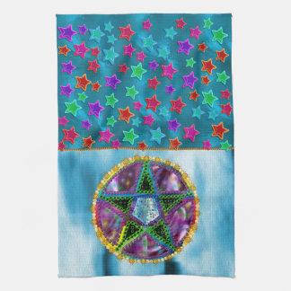 Pentagram de la bruja toalla