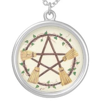 Pentagram de la escoba joyerias