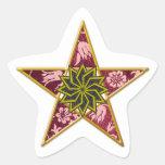 Pentagram de oro #2 - pegatina