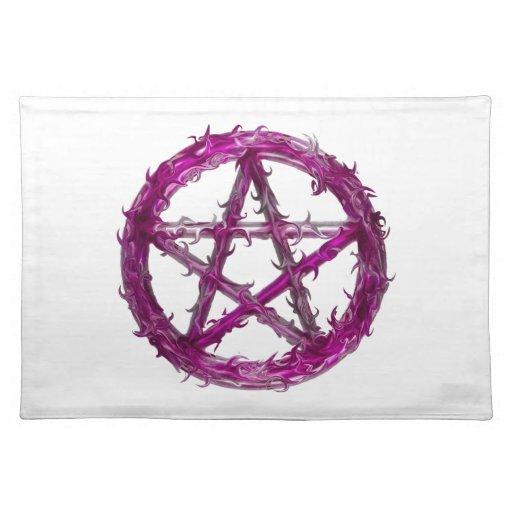 Pentagram de punta mantel