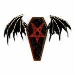 pentagram del ataúd esculturas fotograficas