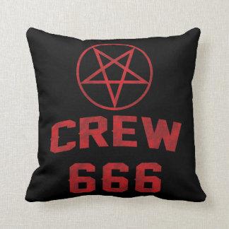Pentagram del equipo 666 cojín