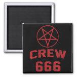 Pentagram del equipo 666 iman