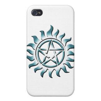 Pentagram del trullo iPhone 4 protector