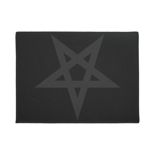 Pentagram Doormat Zazzle Com