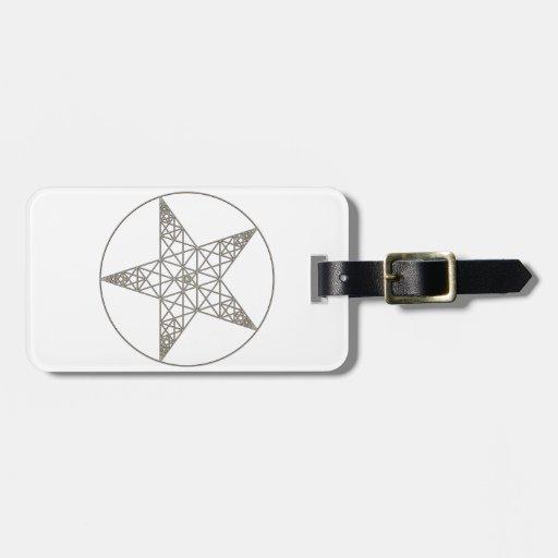 pentagram etiquetas bolsas