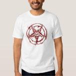 Pentagram feliz remeras