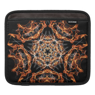 Pentagram Fire iPad Sleeve