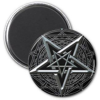 Pentagram Iman De Frigorífico