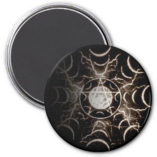 Pentagram Imán De Nevera