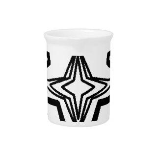 Pentagram(Intricate Design) Beverage Pitchers