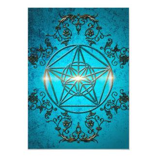 """Pentagram, Invitación 5"""" X 7"""""""