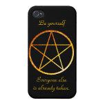 Pentagram iPhone4 Shell iPhone 4/4S Carcasas