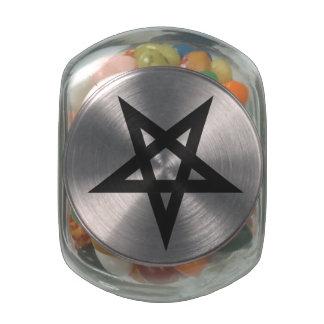 Pentagram Jarras De Cristal Jelly Bely