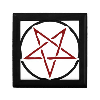 Pentagram Jewelry Box