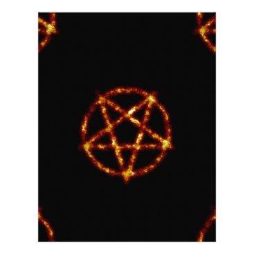 Halloween Themed pentagram letterhead