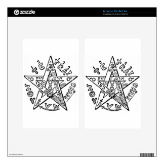 Pentagram_(Levi) Decal For Kindle Fire