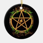 Pentagram Litha Ornament