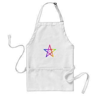 Pentagram masculino 3 del arco iris