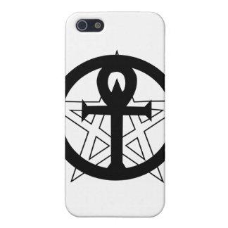 pentagram masculino iPhone 5 fundas