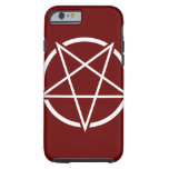 Pentagram No.1 (blanco) Funda De iPhone 6 Tough