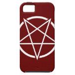 Pentagram No.1 (blanco) iPhone 5 Funda