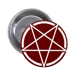 Pentagram No.1 (blanco) Pins