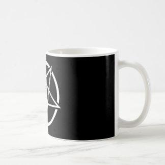 Pentagram No.1 (blanco) Tazas De Café