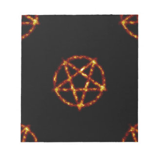 pentagram notepad