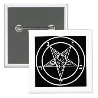 Pentagram of Baphomet Button