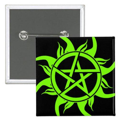 Pentagram pagano pins
